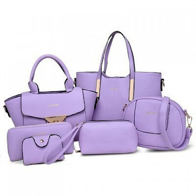 Multi Function Bag (6 in 1 Set ) - Purple