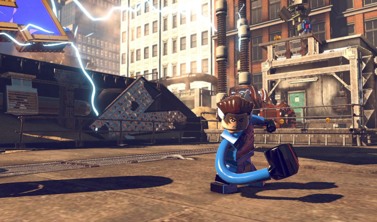 Dream Games: LEGO MARVEL Super Heroes