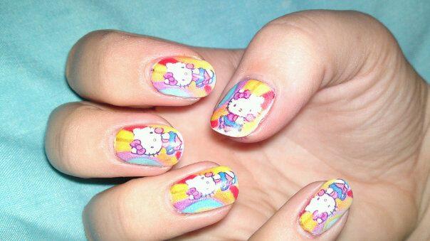 digital nail art printers nails
