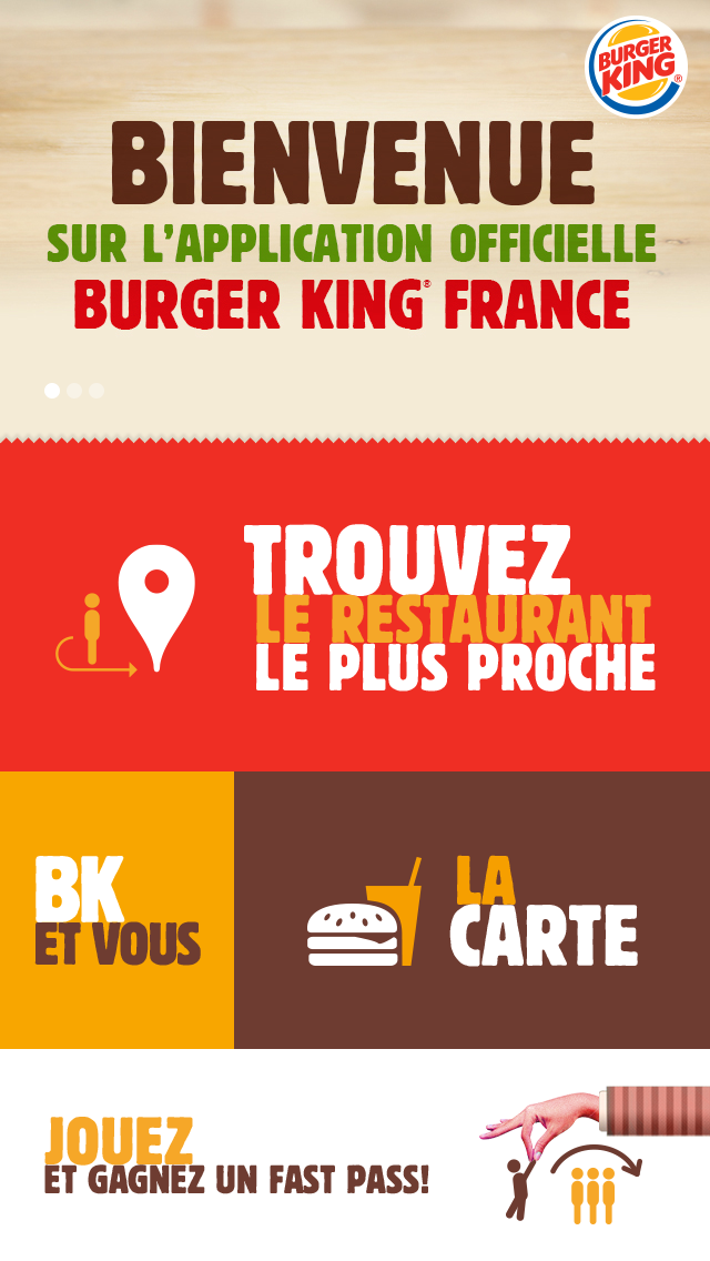 Burger King: Fight to skip the line