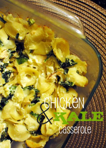 A Clove of Garlic, A Pinch of Salt: Chicken and Kale Casserole