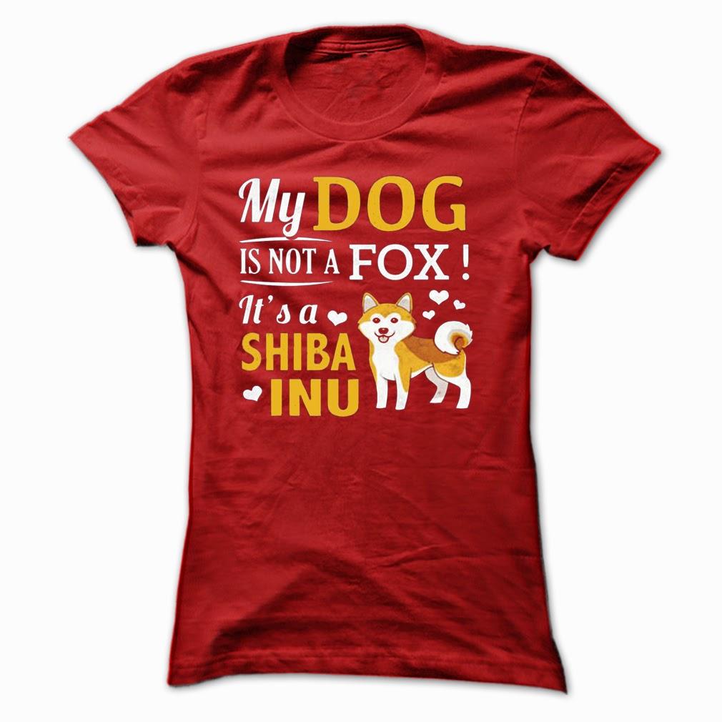 my dog is not a fox. It's a shiba inu