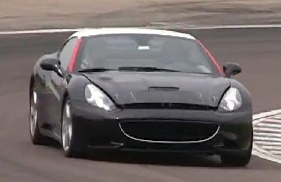 This Ferrari California mule sure sounds turbocharged