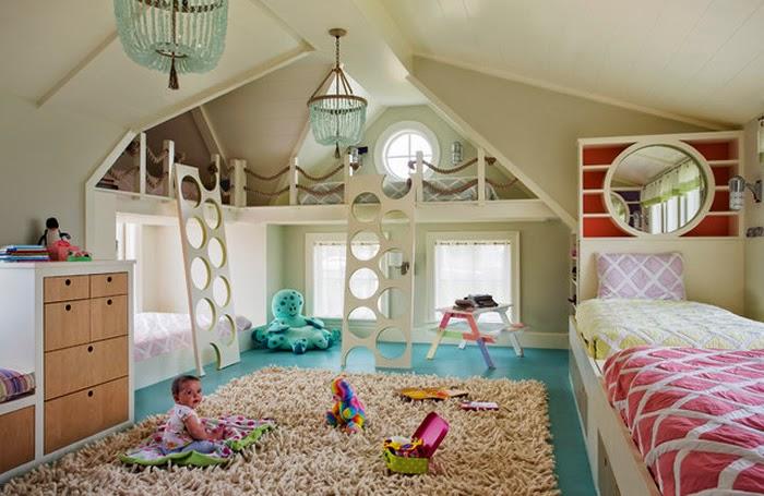 6 Habitaciones infantiles muy originales Ms Chicos