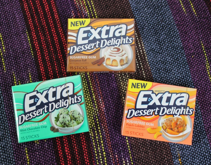 #ExtraGumMoments #CollectiveBias Dessert Delights gum