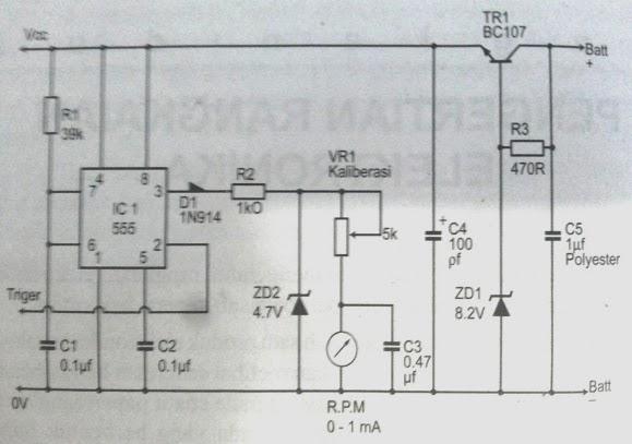 Gambar skema rangkaian elektronika