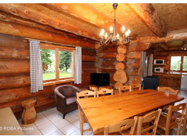 Estilo rustico cabana rustica en las montanas francesas - Casas rusticas por dentro ...