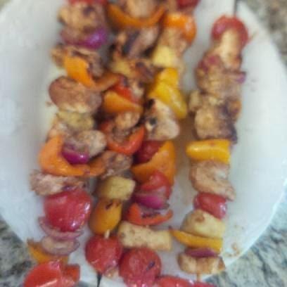 www.alysonhorcher.com,  Chicken Kabob Marinade, clean eating chicken kabob recipe, clean eating marinade, healthy eating, get fit, meal planning