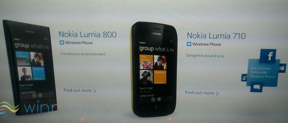 Nokia Lumia 800 and Lumia 710 Mango Leaked