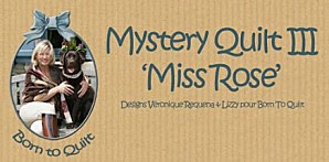QUILT MYSTERY  2013  organiza  VERONIQUE REQUENA
