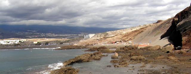 Playa nudista La Tejita (Tenerife)