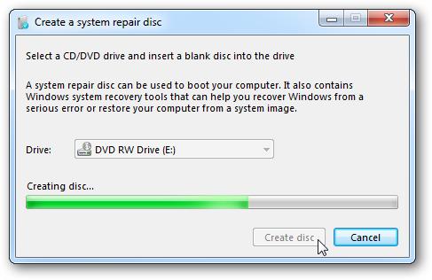 Как создать recovery раздел windows 81