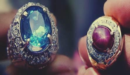 Gambar jenis-jenis batu cincin atau batu akik permata yang memiliki khasiat