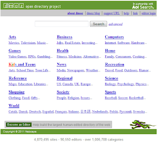 Arafa Daming - DMOZ directory listing