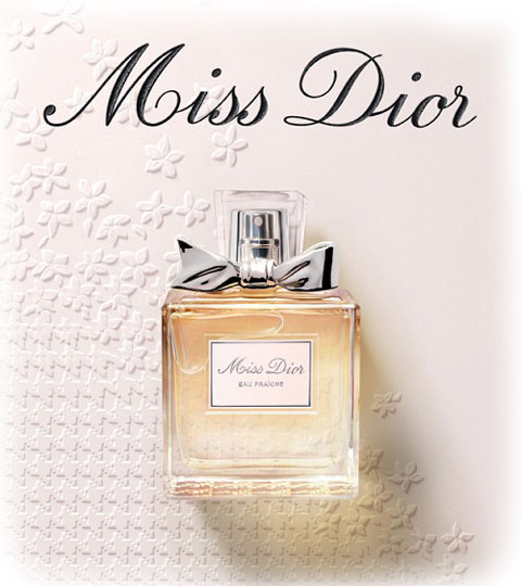 Miss Dior Eau Fraiche campaign