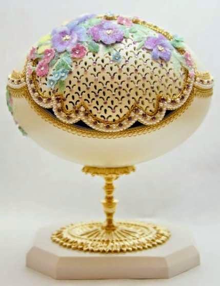artystyczne jaja faberge