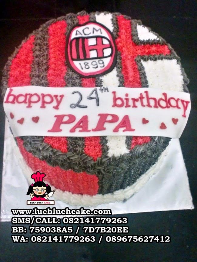Kue Tart AC Milan Daerah Surabaya - Sidoarjo