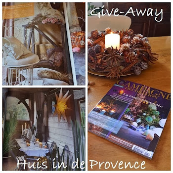 give away Huis in de Provence tot 8 december