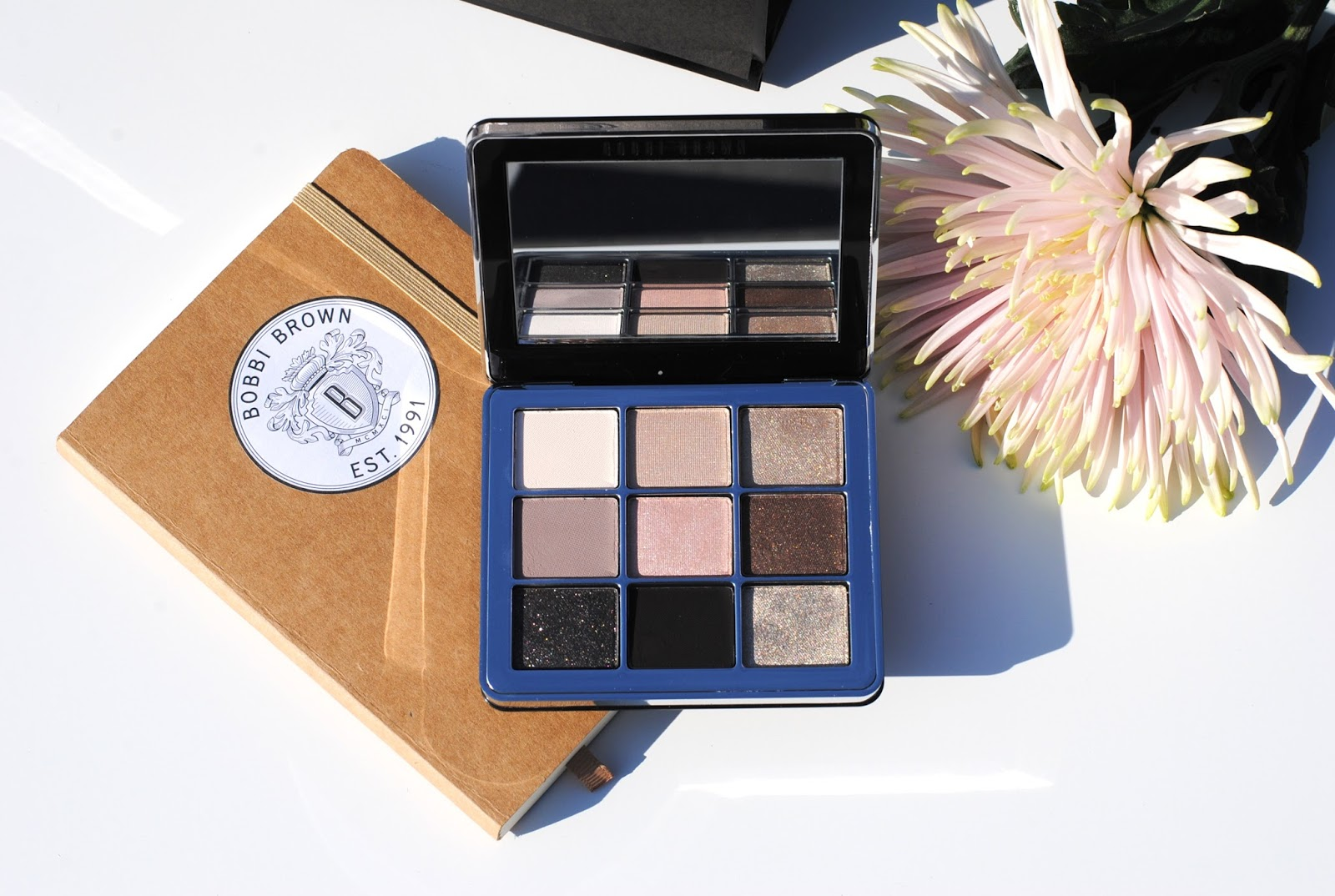 bobbi brown sterling nights eyeshadow palette holiday collection