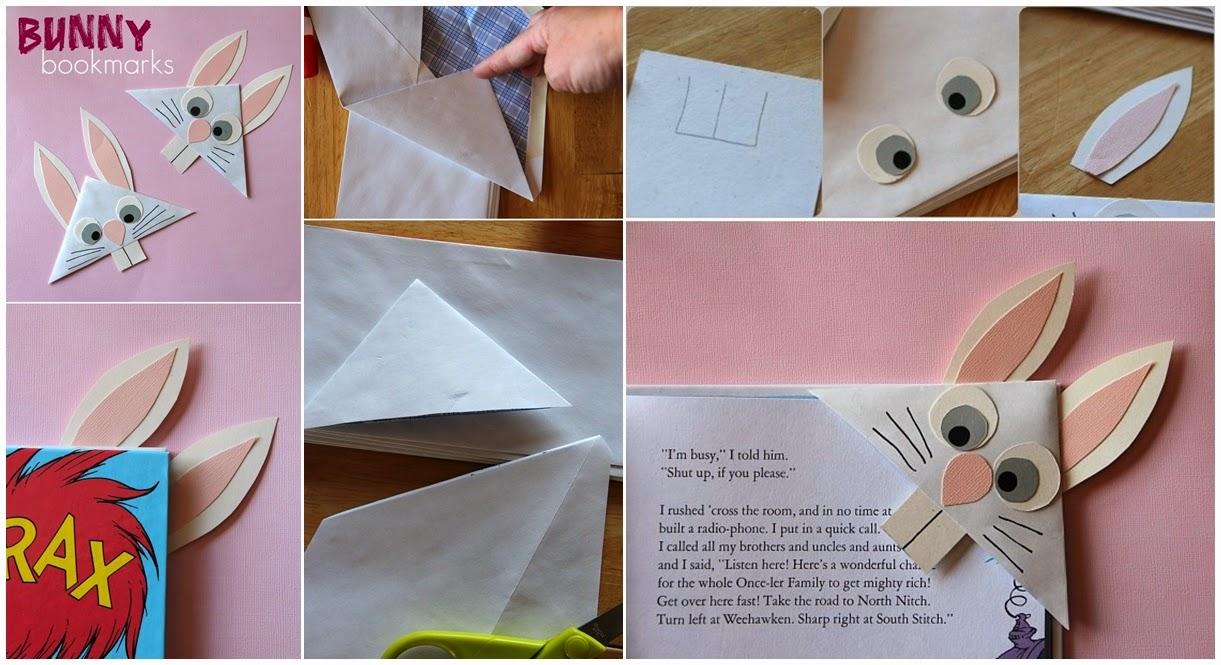 DIY Bunny Bookmark Eiffel LapTop