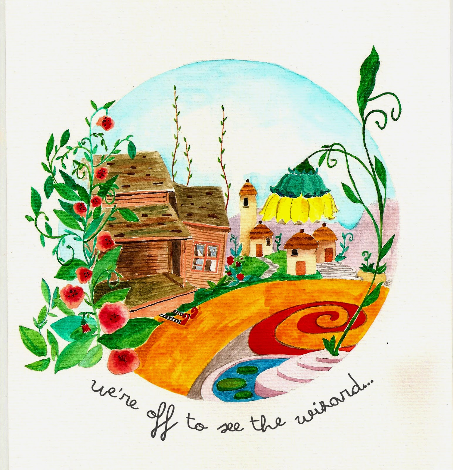Tricia Rödbrun ilustración