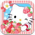 Hello Kitty Kawaii Town Icon Logo