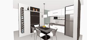 Cozinhas 3D
