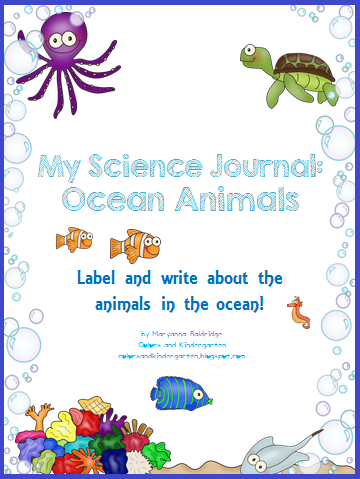 http://www.teacherspayteachers.com/Product/My-Science-Journal-Ocean-1180369