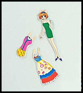 Ni adalah permainan yang semua budak perempuan suka!!!! Paperdolls ...