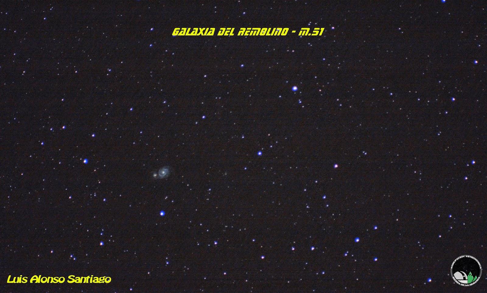 M.51 - Luis Alonso. AstroDemanda.