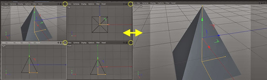 View and Camera Control in C4D 05