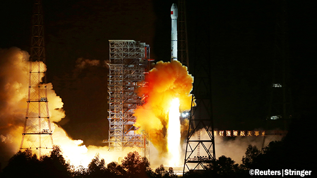 First Successful Space Mission to Moon and Back Launched by China