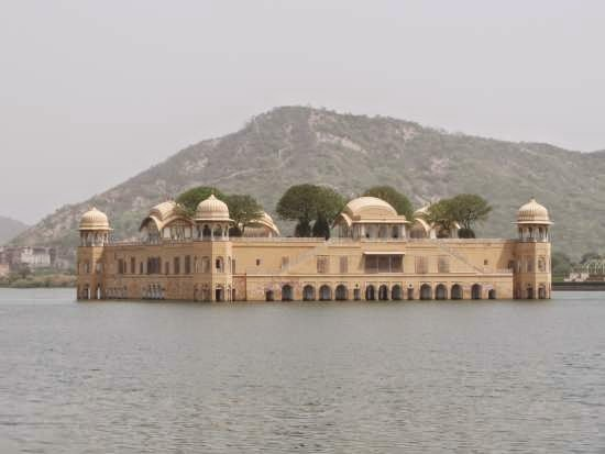 Water-palace, Jaipur, India