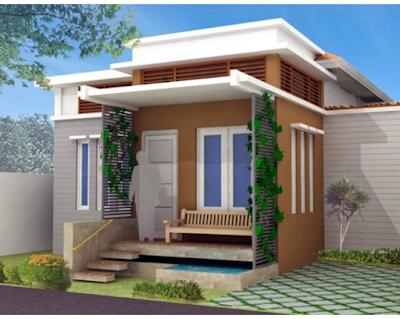 Model Teras Rumah Minimalis Satu Lantai