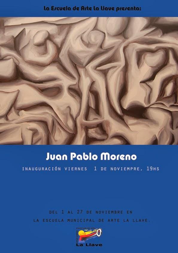 El encuentro de las formas, pinturas de J.P. Moreno