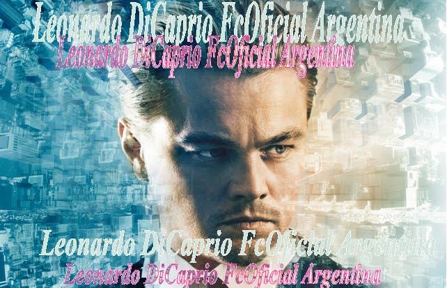 Leonardo DiCaprio FcOficialArgentina! ♥