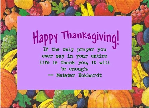 Best Happy Thanksgiving Quotes For Friends