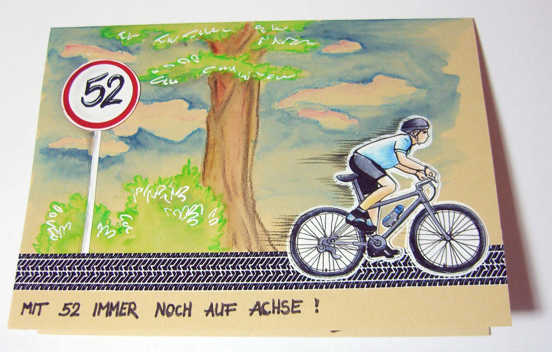 Silas bestelstube geburtstagskarte f r einen fahrradfan for Geburtstagskarte basteln mann
