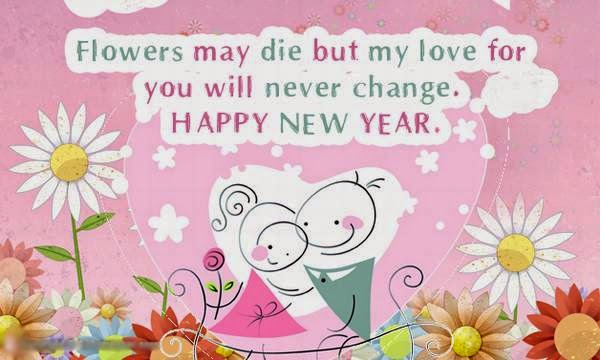 Happy new year 2015 romantic new year 2015 messages for girlfriend m4hsunfo