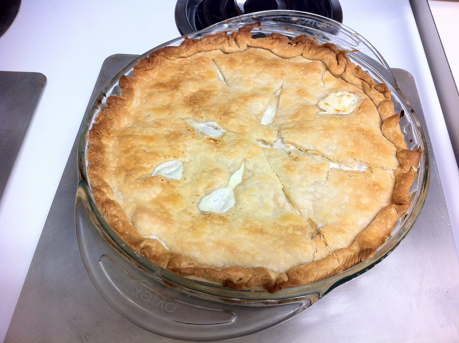 ... in crafting, cooking, and couponing!: Creamy Chicken Pot Pie