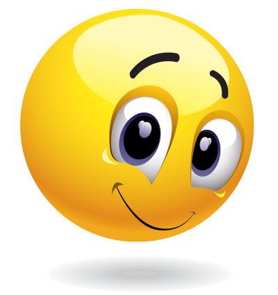 Shyly emoticon