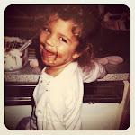 baking cupcakes at age 3