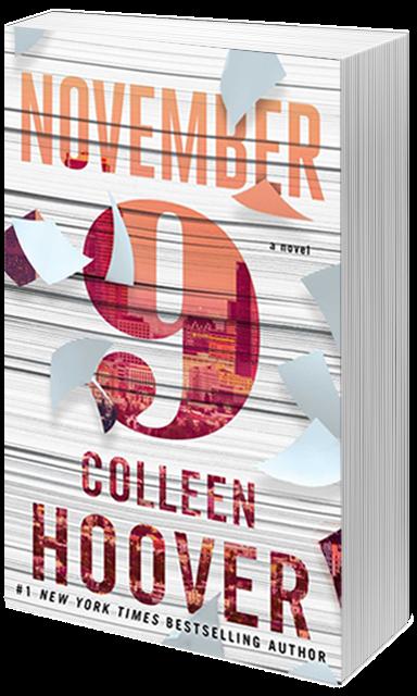 November 9- Colleen Hoover