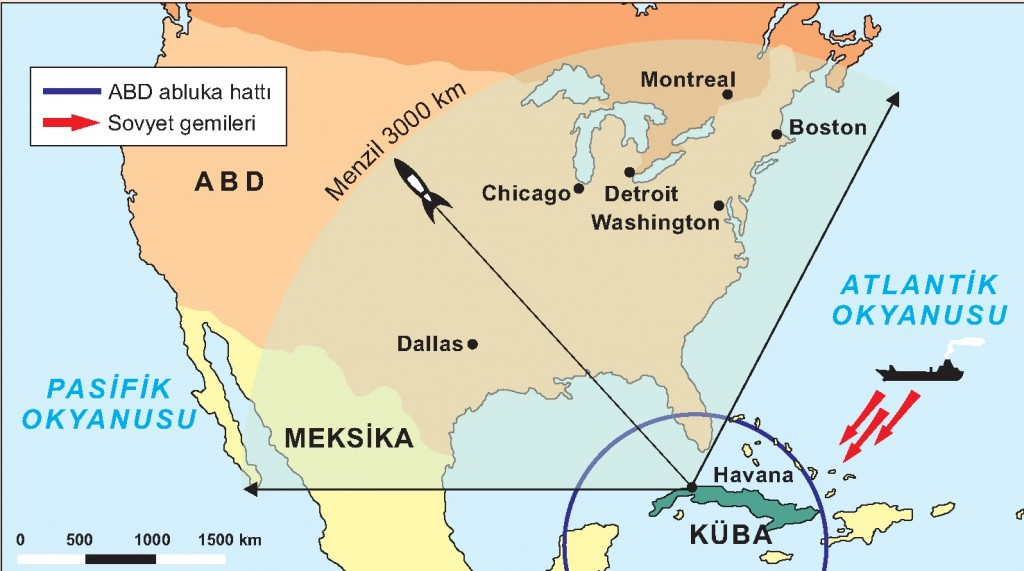 küba buhranı ile ilgili görsel sonucu