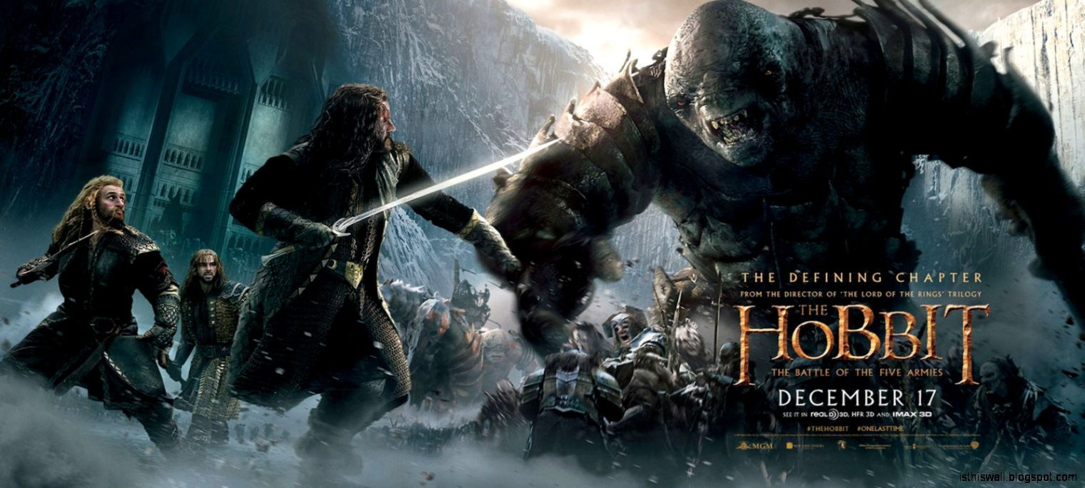 Hobbit 3 The Battle of the