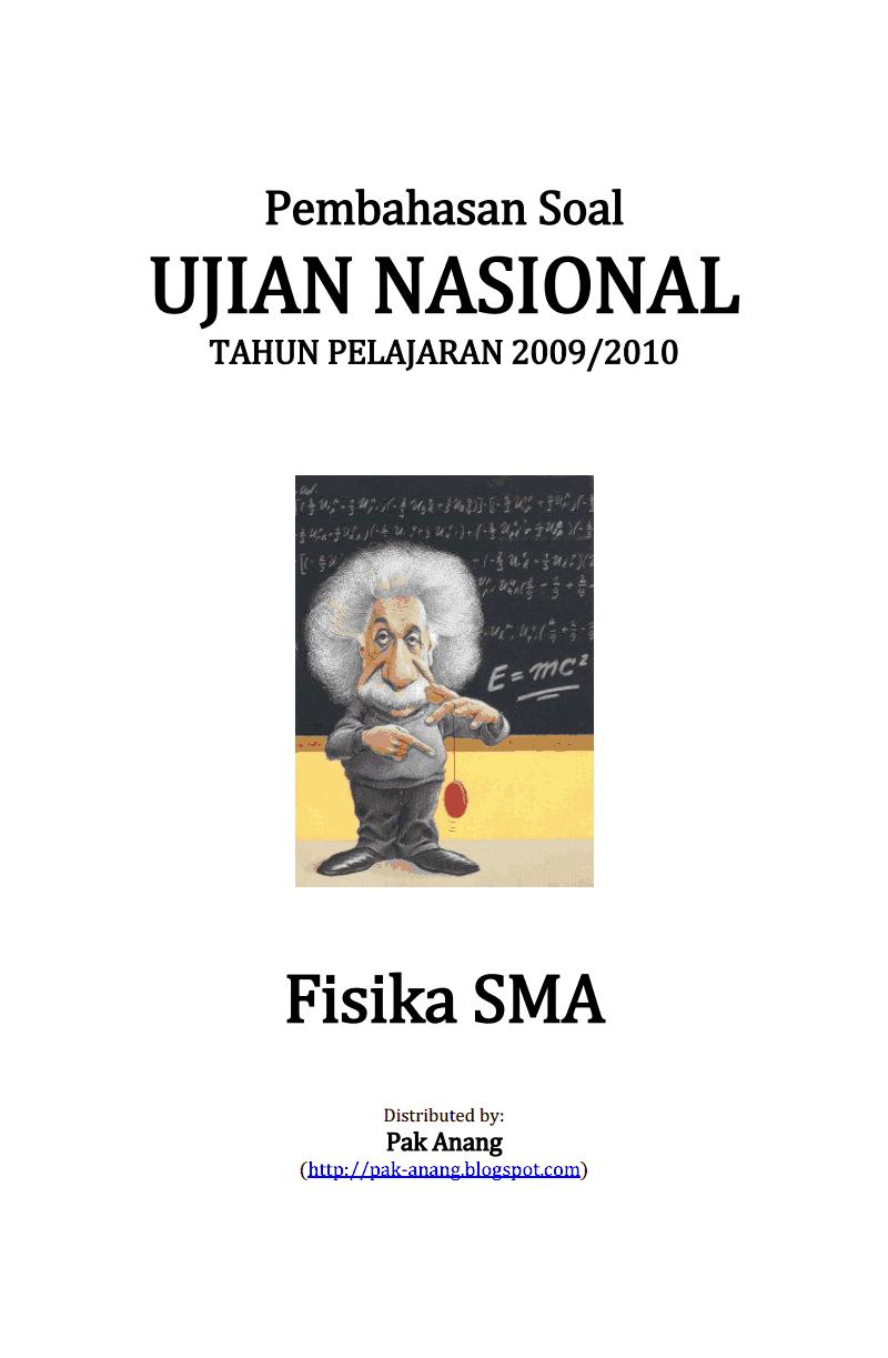 Berbagi Dan Belajar Pembahasan Soal Un Fisika Sma 2010
