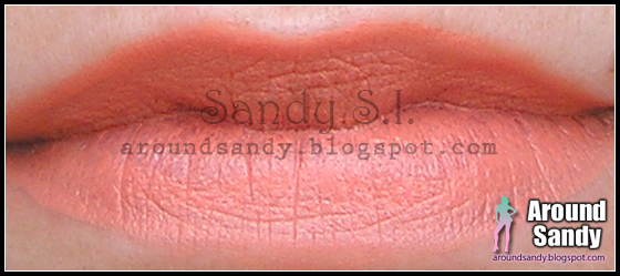 Barry M peachy pink lip paint swatch review opinión dónde comprar buy labial
