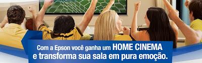 """Promoção Epson - """"""""Assista Ao Futebol Em Uma Telona"""""""