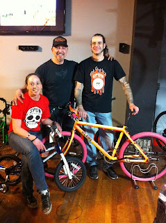 Judi, Dom, and John of Spun Bicycles