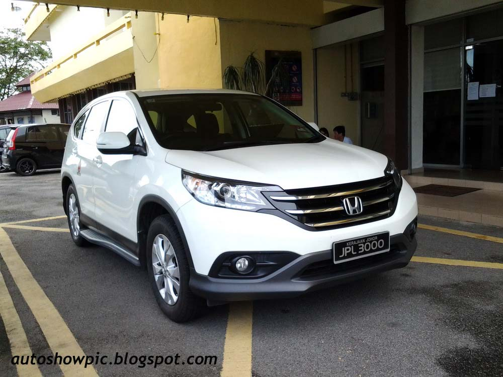 Honda CR-V 4wd Kerajaan Johor